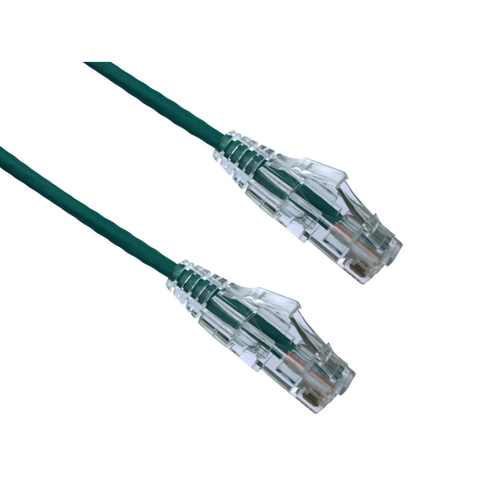 CAT6 Patch Cable 2 Packs of 25 pcs Black Box CAT6PC-007-GN-25PAK UTP